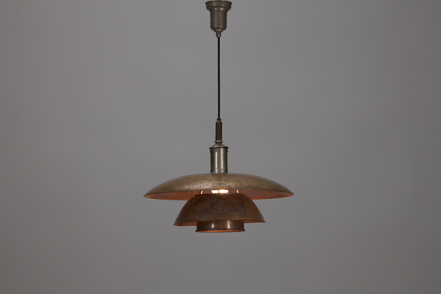 Poul Henningsen, 'Ceiling Light with model no. PH 5/5 shade', ca. 1927, Jacksons