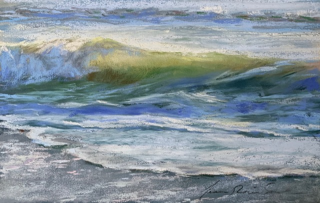 , 'Glimmer,' 2015-2019, Copley Society of Art