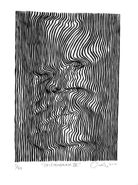, 'Seismogram IV,' 2014, V1 Gallery