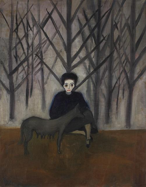 , 'Nadya and the Wolf ,' 1932, Victoria Miro
