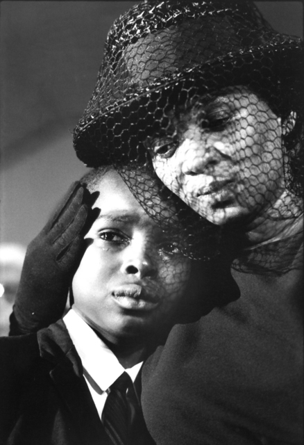 , 'Mrs. Cheney and Young ben, James Chaney Funeral, Mississippi,  1964,' 1964, Monroe Gallery of Photography