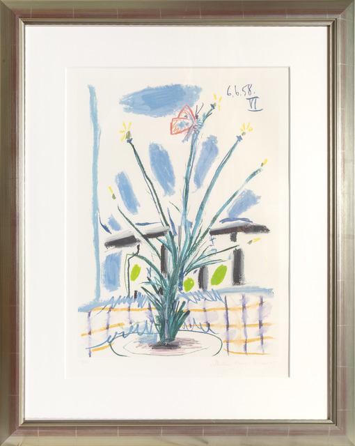 Pablo Picasso, 'Le Bouquet', 1973 -Originally created in 1958, RoGallery