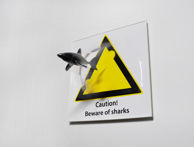 , 'Beware of Sharks,' 2016, Keumsan Gallery