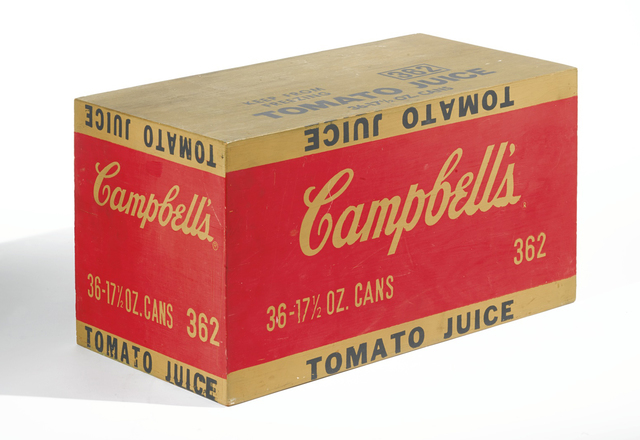 , 'Campbell's Tomato Juice Box,' 1964, Joseph K. Levene Fine Art, Ltd.