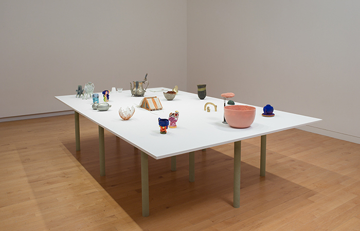 Handheld (installation view), May 20, 2018 to January 13, 2019. The Aldrich Contemporary Art Museum, Ridgefield, CT. Photo: Jason Mandella.