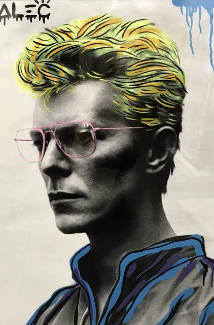 , 'Blonde Bowie,' 2017, ArtLife Gallery