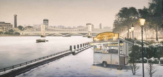 , 'Churreria en Battersea Park ,' 2006, Wally Workman Gallery