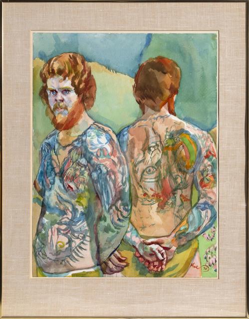 Henry Koerner, 'Pictured Man (Red Beard)', 1978, RoGallery