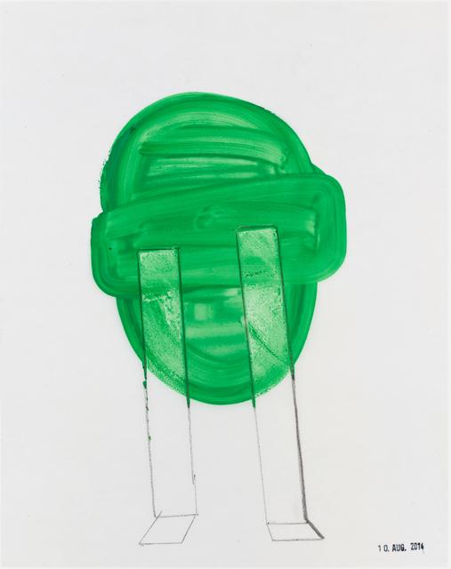 , 'Zwei Tränen /Two Tears,' 2014, Galerie Heike Strelow