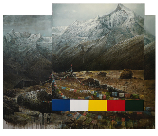Clemens Tremmel, 'himālaya 2', 2018, REITER