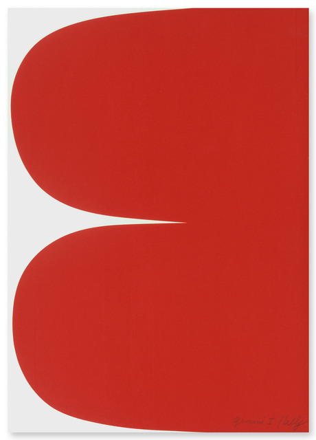 , 'Red Curves,' 2013, Gemini G.E.L. at Joni Moisant Weyl