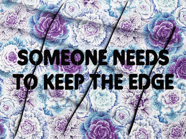 , 'Someone Needs to Keep the Edge,' 2018, River