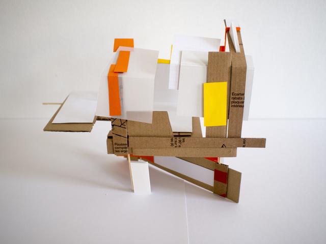, 'Maquette abandonnée no. 17,' 2017, The Merchant House