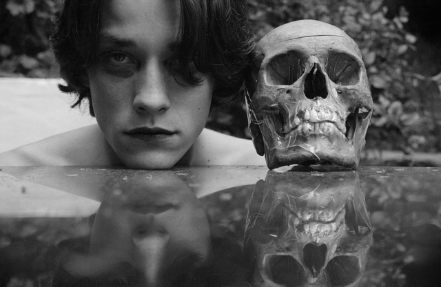 , 'Self-Portrait with Death # 1,' 1996/2018, P.P.O.W