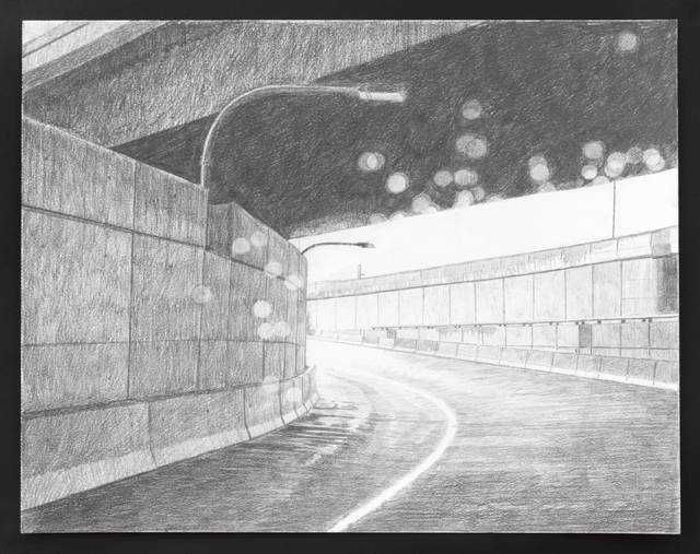 , 'Road Drawing (Underpass),' 2016, Castor Gallery