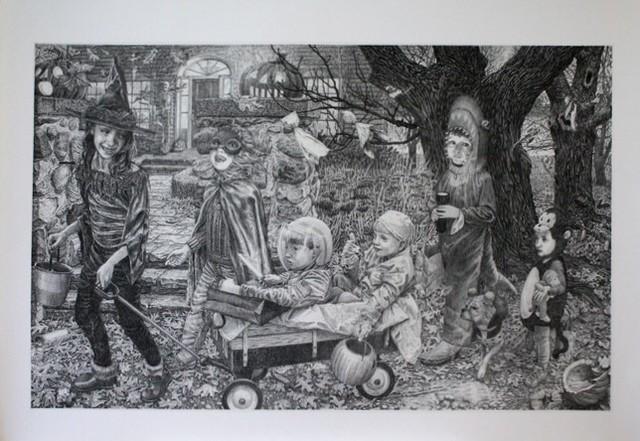 , 'Halloween,' , The Loft Fine Art