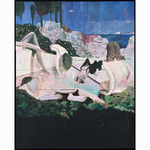 , 'Les Baigneuses,' 2015, Galerie C.O.A