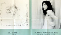Robert Mapplethorpe, Robert Mapplethorpe Patti Smith 1978 exhibition poster