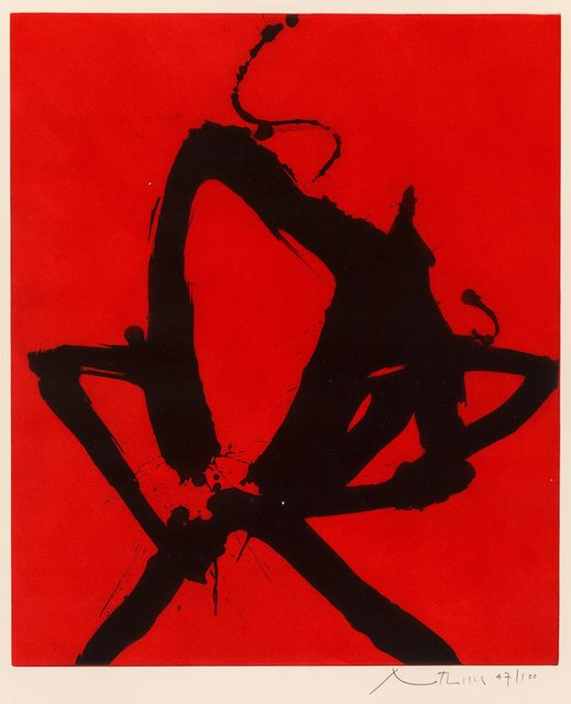 Robert Motherwell, 'Red Sea I', 1976, Heritage Auctions