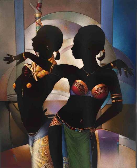 , 'Exotic Dancers,' , Myriam Nader Haitian Art Gallery