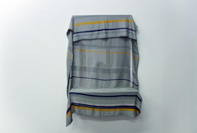 , 'Blanket (Lufthansa),' 2017, Celaya Brothers Gallery