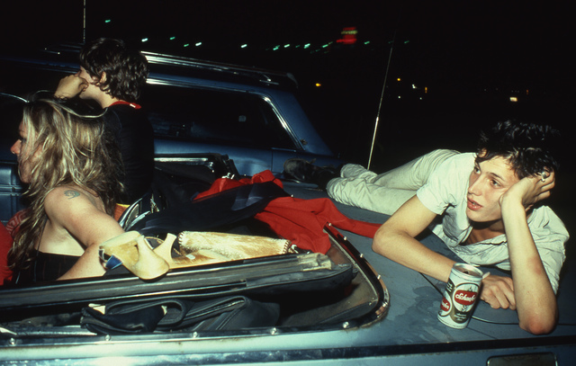 , 'French Chris at the Drive-in, NJ,' 1979, Matthew Marks Gallery