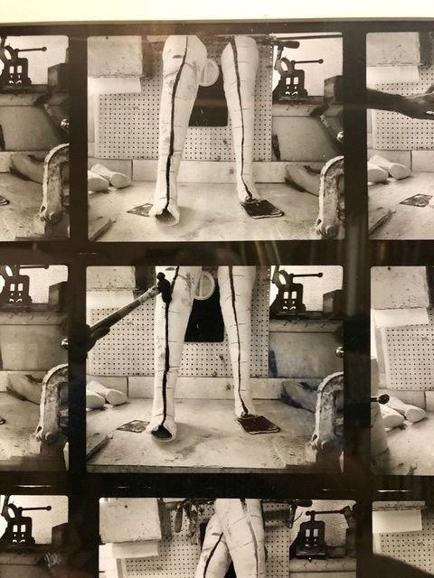 Shimon Attie   Vintage Silver Gelatin Photograph Surrealist Fake Limb  Prosthetic Factory Photo (1980-1989)   Available for Sale   Artsy