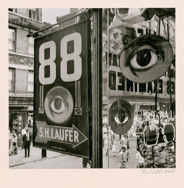 , 'The Eye, Lower East Side, NYC ,' 1948, Be-hold