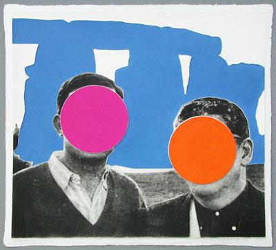 , 'Stonhenge Blue,' 2005, Galerie Bhak