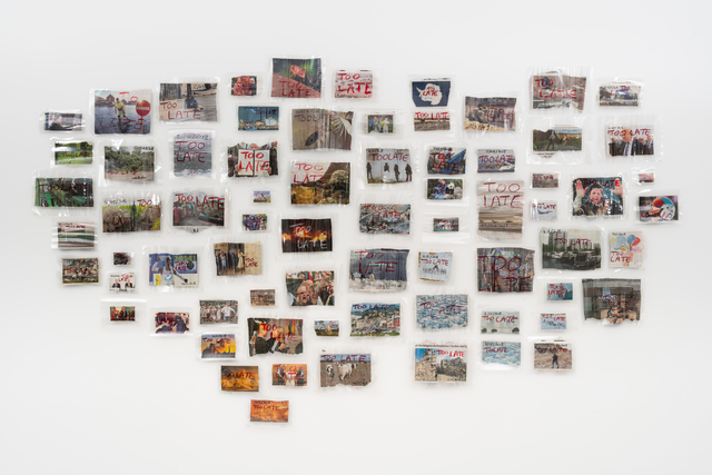 Thierry Geoffroy /COLONEL, 'Newspaper Cut Out Installation', 2019, SABSAY