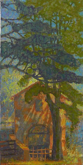 , ' Via Ninfana, Outside the Garden Gates,' 2017, John Martin Gallery