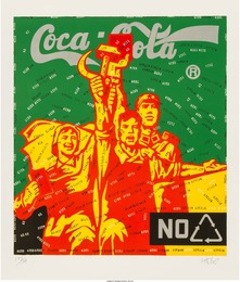 Coca Cola (green), from The Great Criticism series