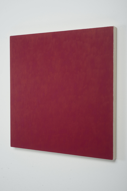 Marcia Hafif, 'Red Painting: Irgazine Ruby, February 6', 2000, Painting, Oil on canvas, CONRADS