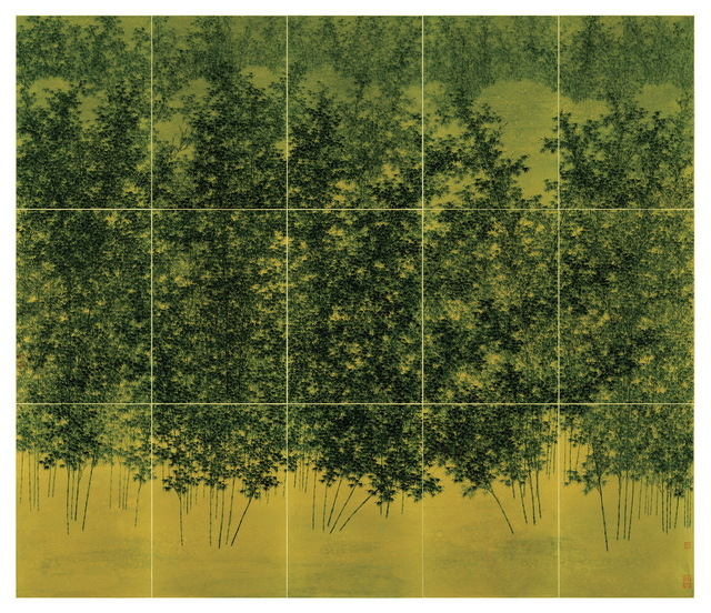 , 'Bamboo Trees in Profusion,' 2018, Asia Art Center