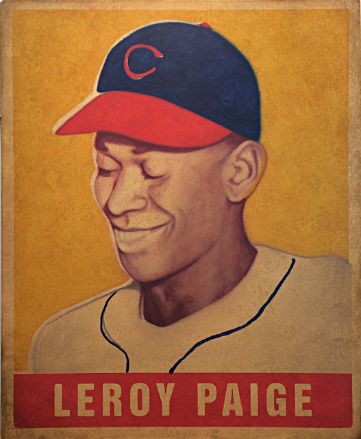 ", '1948 Leaf Leroy ""Satchel"" Paige,' 2017, Axiom Contemporary"