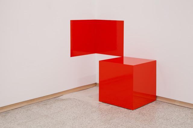 , 'Red Cube,' 2017, Emerson Dorsch