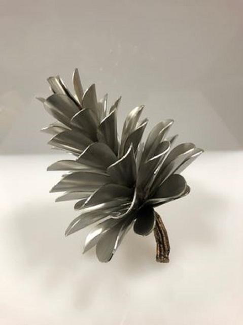 Floyd Elzinga, 'Pine Cone #19-739', ca. 2020, Painting, Stainless Steel, Whistler Contemporary