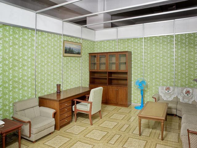 , 'Model Living Room (Three Revolutions Exhibition, Pyongyang),' 2016, The Ravestijn Gallery