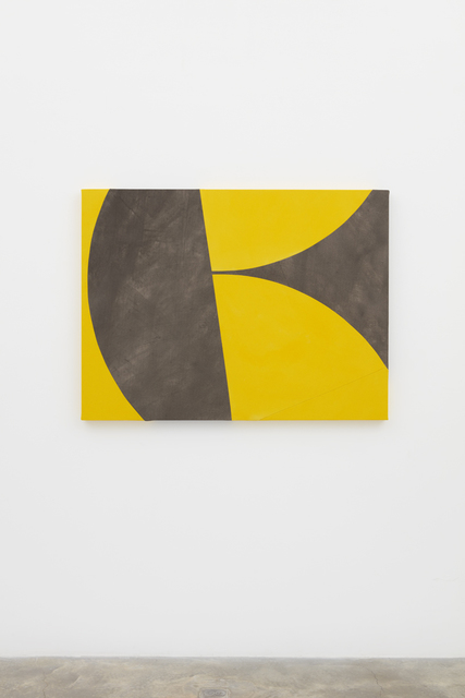 , 'Stacked Yellow,' 2018, Casey Kaplan