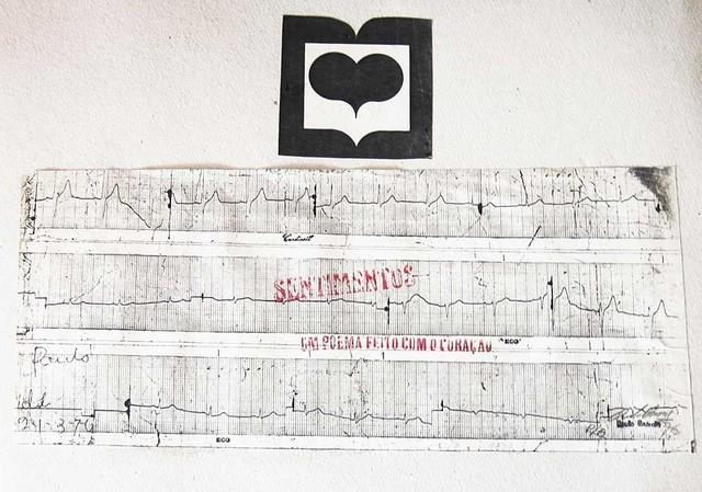 , 'Feelings: a poem from the heart [Sentimentos: um poema feito com o coração] ,' 1976, Galeria Nara Roesler