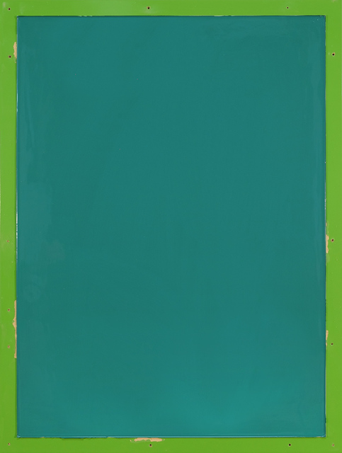 , 'from series Out of imperfection: Green on green,' 2016, Baró Galeria