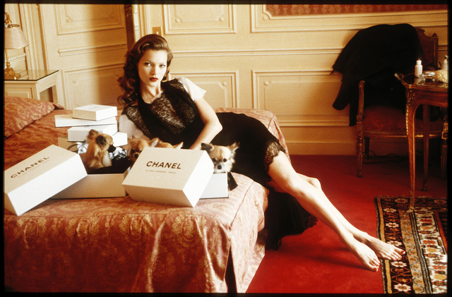 , 'Kate Moss, Hotel Raphael, Paris,' 1993, Atlas Gallery