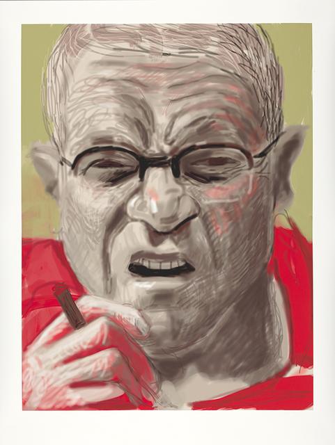 , 'Self Portrait I, 13 March 2012,' 2012, Annely Juda Fine Art