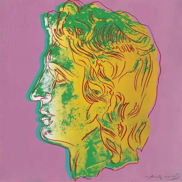 Andy Warhol, 'Alexander the Great : one plate', 1982, Curio