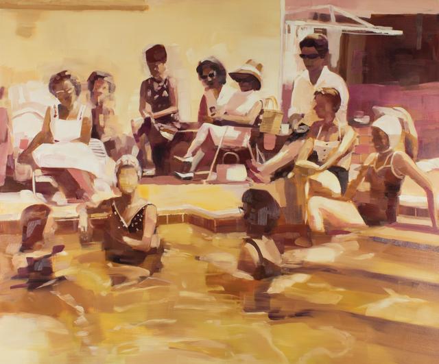 , 'Ladies Lounging Poolside 1960,' 2018, Kopeikin Gallery