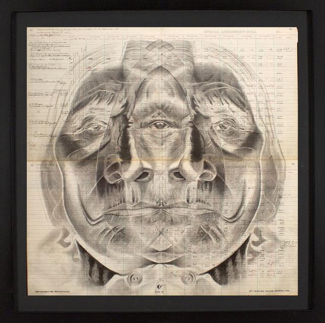 Chris Pappan, 'Nio'kiwado'be (Reflection)', 2019, Blue Rain Gallery