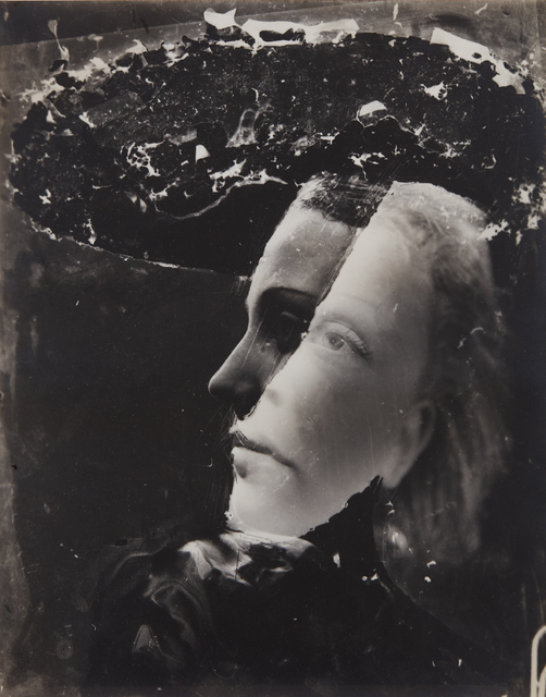 Dora Maar, 'Untitled (double-exposed portrait)', ca. 1936, Photography, Gelatin silver print, Phillips
