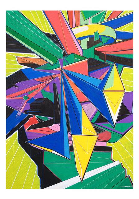 , 'Futura con rombos,' 2011, sc gallery