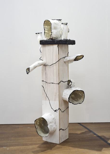 , 'DVD Pedestal,' 2015, Galerie Jocelyn Wolff