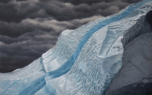 , 'Iceberg with Frozen Rainwater,' 2014, James Baird